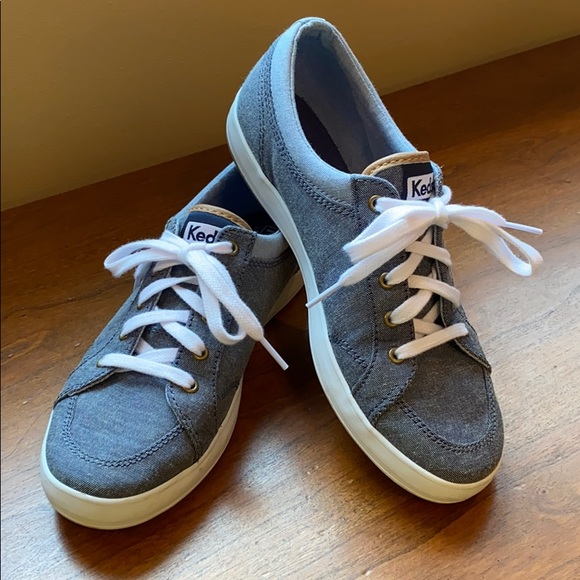 Keds Center denim blue sneakers